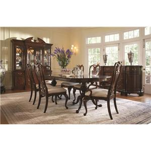 Fine Furniture Design American Cherry Formal Dining Room Group