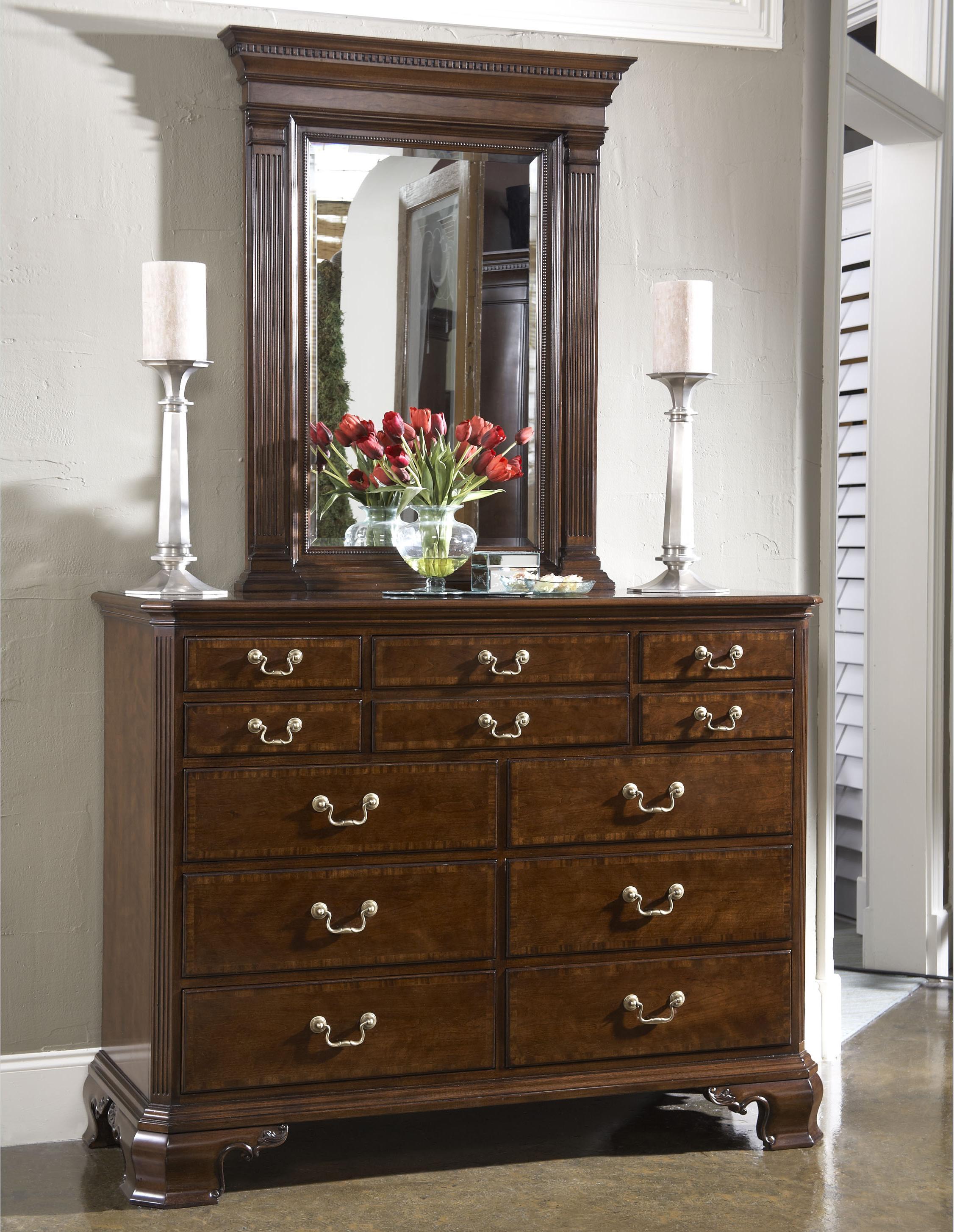 Belfort Signature Belmont Dresser & Mirror Combo - Item Number: 1020-131+152
