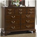 Belfort Signature Belmont Portsmouth Entertainment Dressing Chest with Nine Drawers