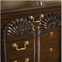 Belfort Signature Belmont Franklin Goddard Chest with Four Drawers - Beautiful Carving Details