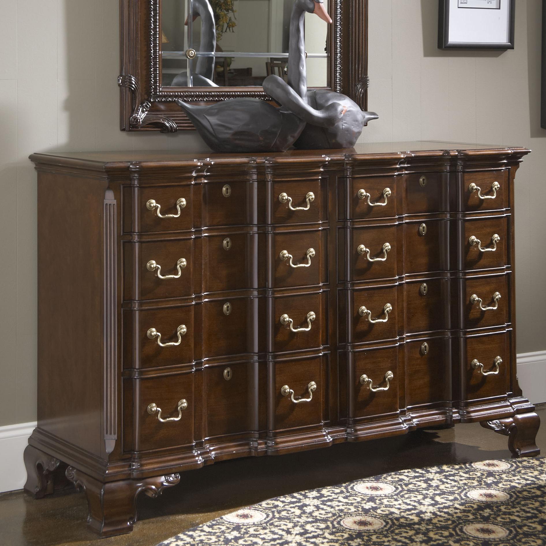Belfort Signature Belmont Franklin Goddard Dresser - Item Number: 1020-142