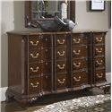 Fine Furniture Design American Cherry Franklin Goddard Dresser - Item Number: 1020-142