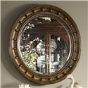 Belfort Signature Belmont Westminster Looking Glass with Gold Leaf