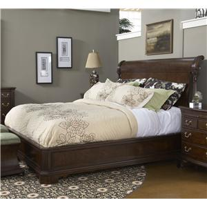 Belfort Signature Belmont Queen Charleston Platform Panel Bed