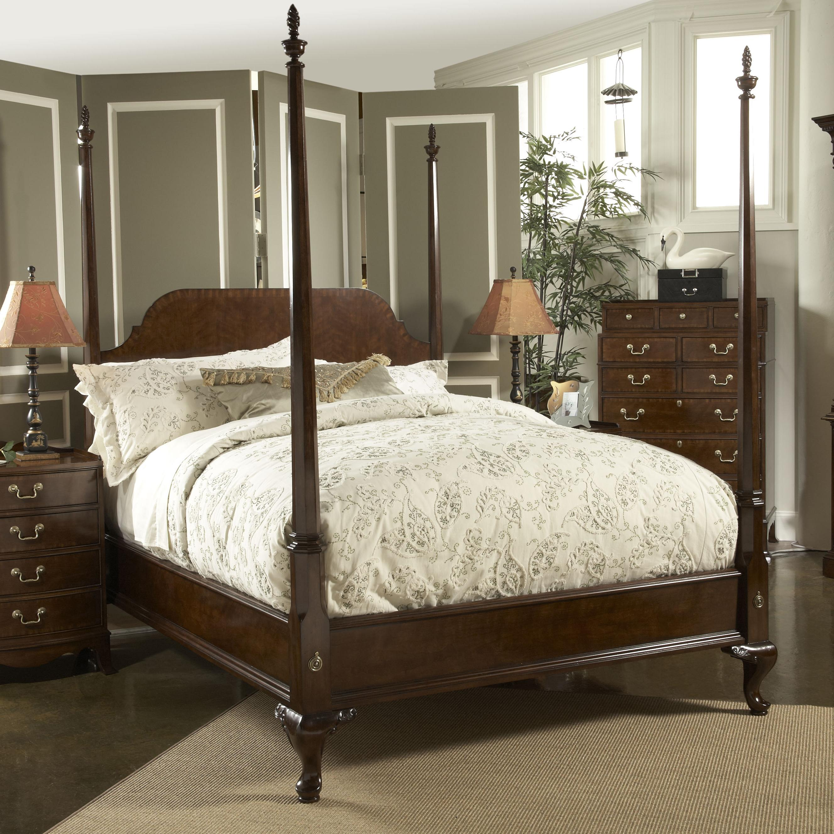 Belfort Signature Belmont Queen Bridgeport Pencil Post Bed