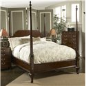 Belfort Signature Belmont King-Size Bridgeport Pencil Poster Bed - Bed Shown May Not Represent Size Indicated