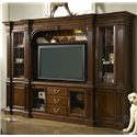 Fine Furniture Design American Cherry Salisbury Home Entertianment Wall Unit - Item Number: 1020-691BR+TL+692BL+TL+693+694