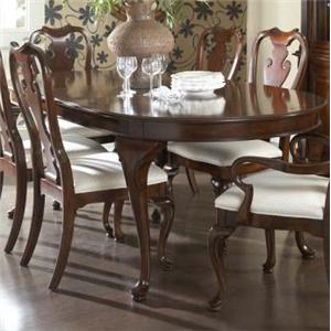 Fine Furniture Design American Cherry Oval Dining Table