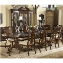 Fine Furniture Design American Cherry Fredericksburg Dining Table - Item Number: 1020-818+819