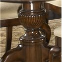 Fine Furniture Design American Cherry Fredericksburg Rectangular Double Pedestal Dining Table - Double Pedestal Base Detail
