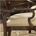 Fine Furniture Design American Cherry Brandywine Splat Back Arm Chair - Decoratively Shaped Arm