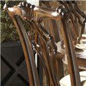 Belfort Signature Belmont Alexandria Arm Chair - Decorative Moldings Make a Beautiful Chair Back