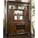 Fine Furniture Design American Cherry Cambridge Welch Cupboard - Item Number: 1020-831+832