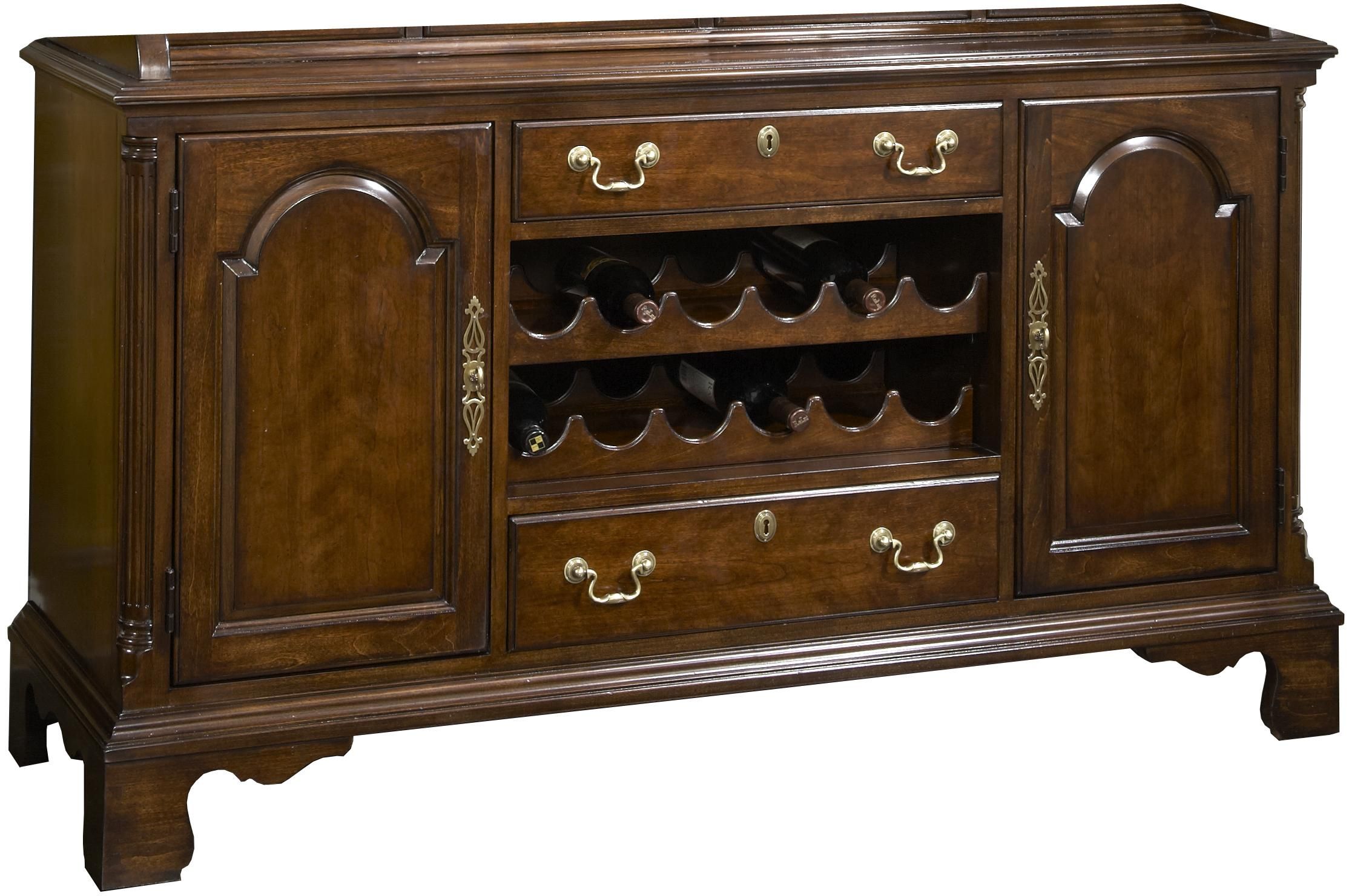 Belfort Signature Belmont Cambridge Welch Cupboard Buffet - Item Number: 1020-832