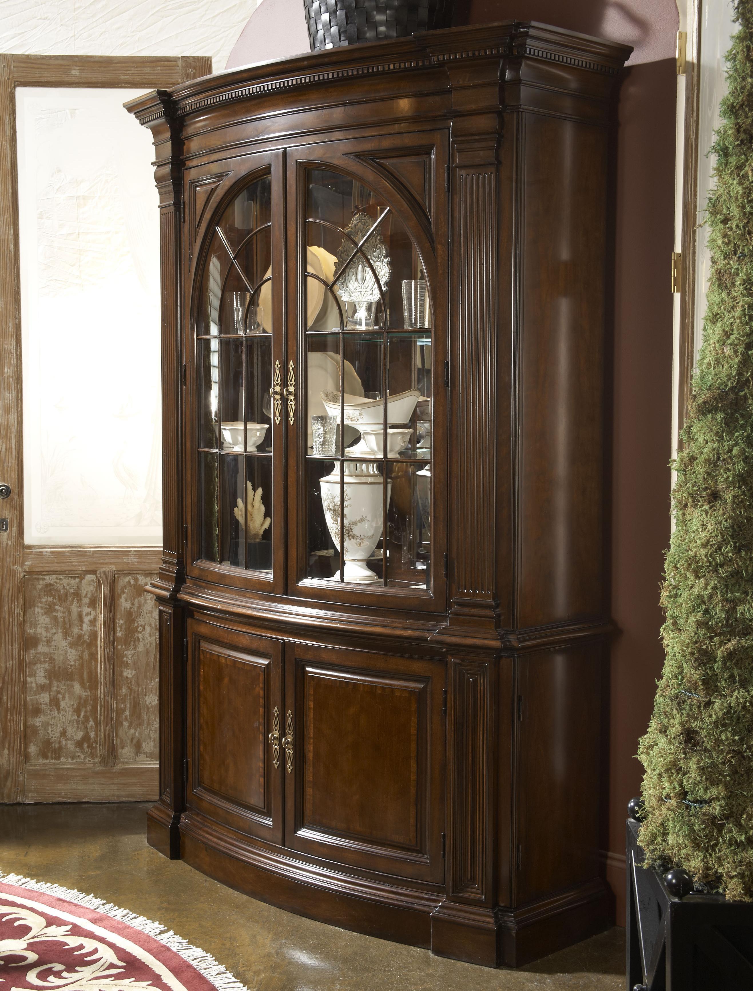 Belfort Signature Belmont Charleston Display Cabinet - Item Number: 1020-856+857