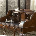 Belfort Signature Belmont New Bedford Ladies' Desk with Tooled Leather Top - Features a Tooled Leather Top