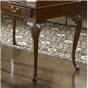 Belfort Signature Belmont New Bedford Ladies' Desk with Tooled Leather Top - Stands on Four Beautiful Cabriole Legs