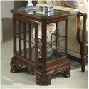 Fine Furniture Design American Cherry Manchester Curio Table - Item Number: 1020-960