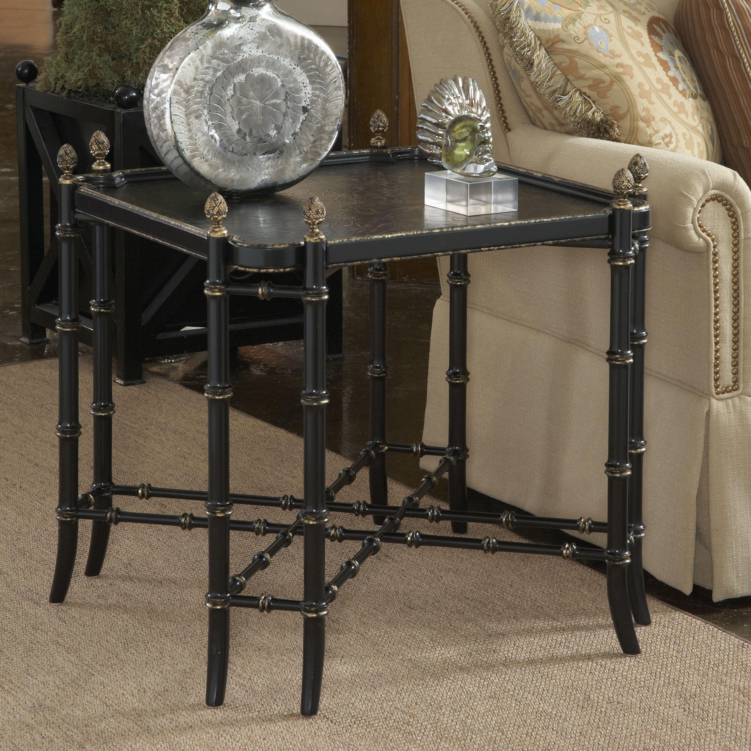 Belfort Signature Belmont New London Chinoiserie Lamp Table - Item Number: 1020-974