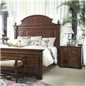 Fine Furniture Design Antebellum Traditional Nightstand with 3 Drawers - Shown in Room Setting
