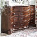 Belfort Signature Westview Classic Triple Dresser with Bowed Front
