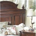 Belfort Signature Westview Traditional Queen Mansion Bed - Decorative Wood Headboard