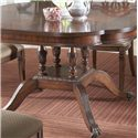 Fine Furniture Design Antebellum Dining Table with Elegantly Crafted Pedestal - Beautifully Crafted Pedestal with Decorative Spider Legs