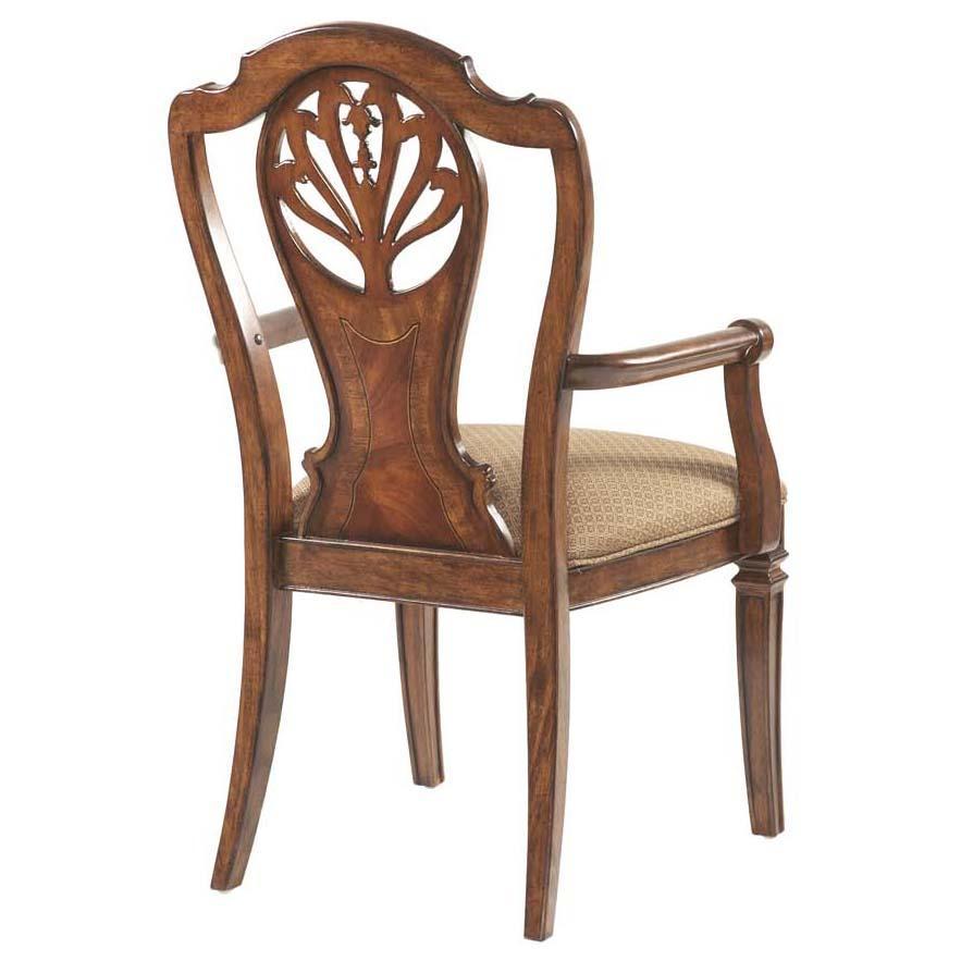 Fine Furniture Design Antebellum Decorative Splat Back