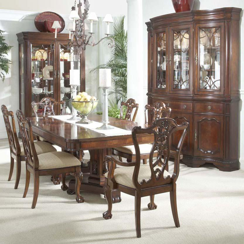 Formal Dining Room Sets For Sale: Belfort Signature Westview Ball & Claw Dining Room Arm