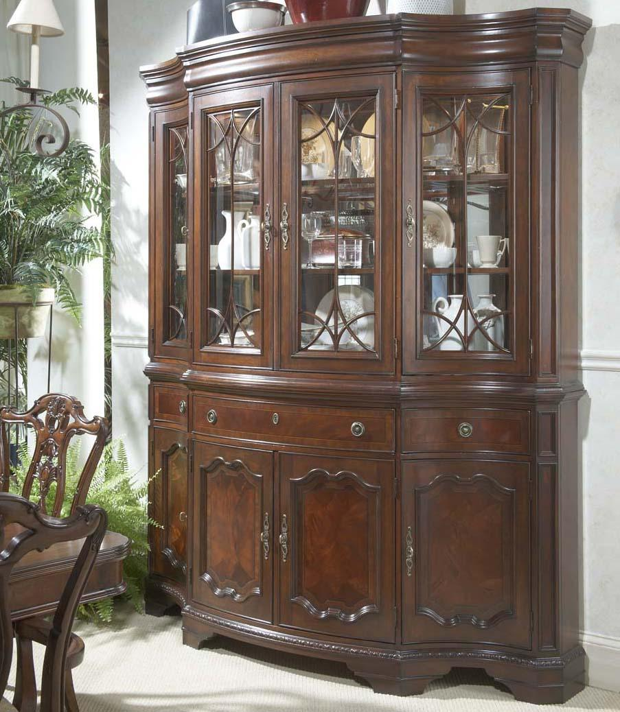 Belfort Signature Westview China Buffet & Hutch - Item Number: 920-842+841