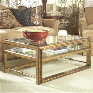 Belfort Signature Westview Rectangular Cocktail Table