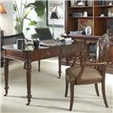 Belfort Signature Westview Classic Wooden Writing Desk - Shown with Desk Chair
