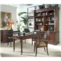 Belfort Signature Westview Classic Wooden Writing Desk - Shown in Room Setting
