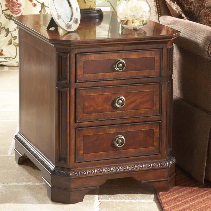 Michael Harrison Collection Antebellum Clic Side Table With Drawers Sprintz Furniture End Nashville Franklin And Greater Tennessee