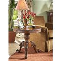 Belfort Signature Westview Decorative Round End Table - Shown in Room Setting