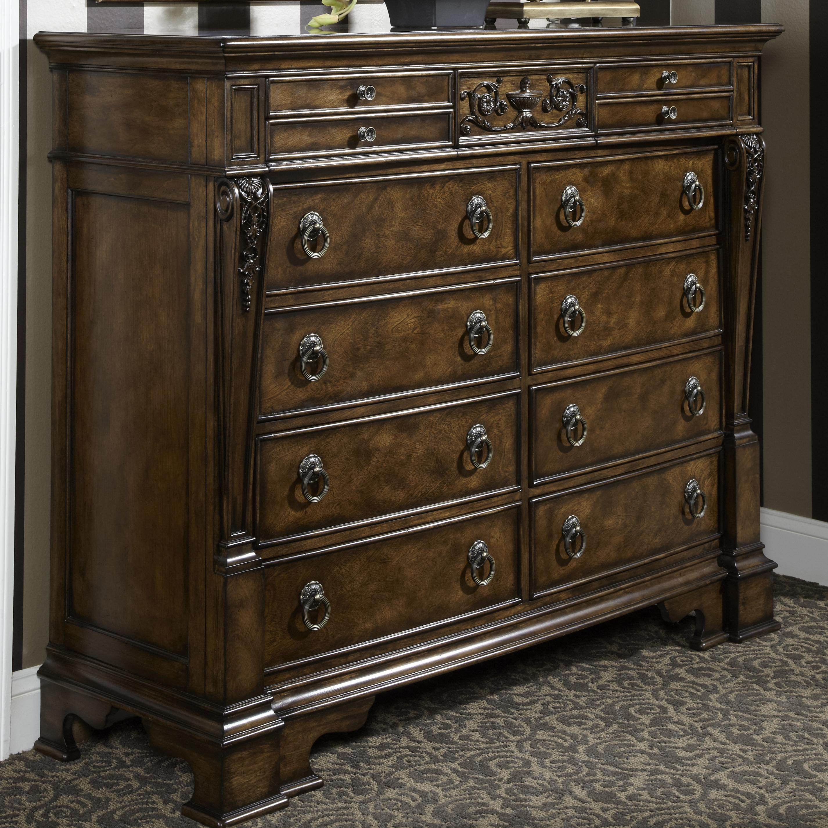 Charmant Michael Harrison Collection Belvedere Traditional Dressing Chest With Extra  Storage Jewelery Trays And Brass Colored Hardware | Sprintz Furniture |  Dressers ...
