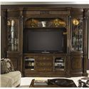 Fine Furniture Design Belvedere Entertainment Center - Item Number: 1150-691TR+BR+692TL+BL+693+694+695