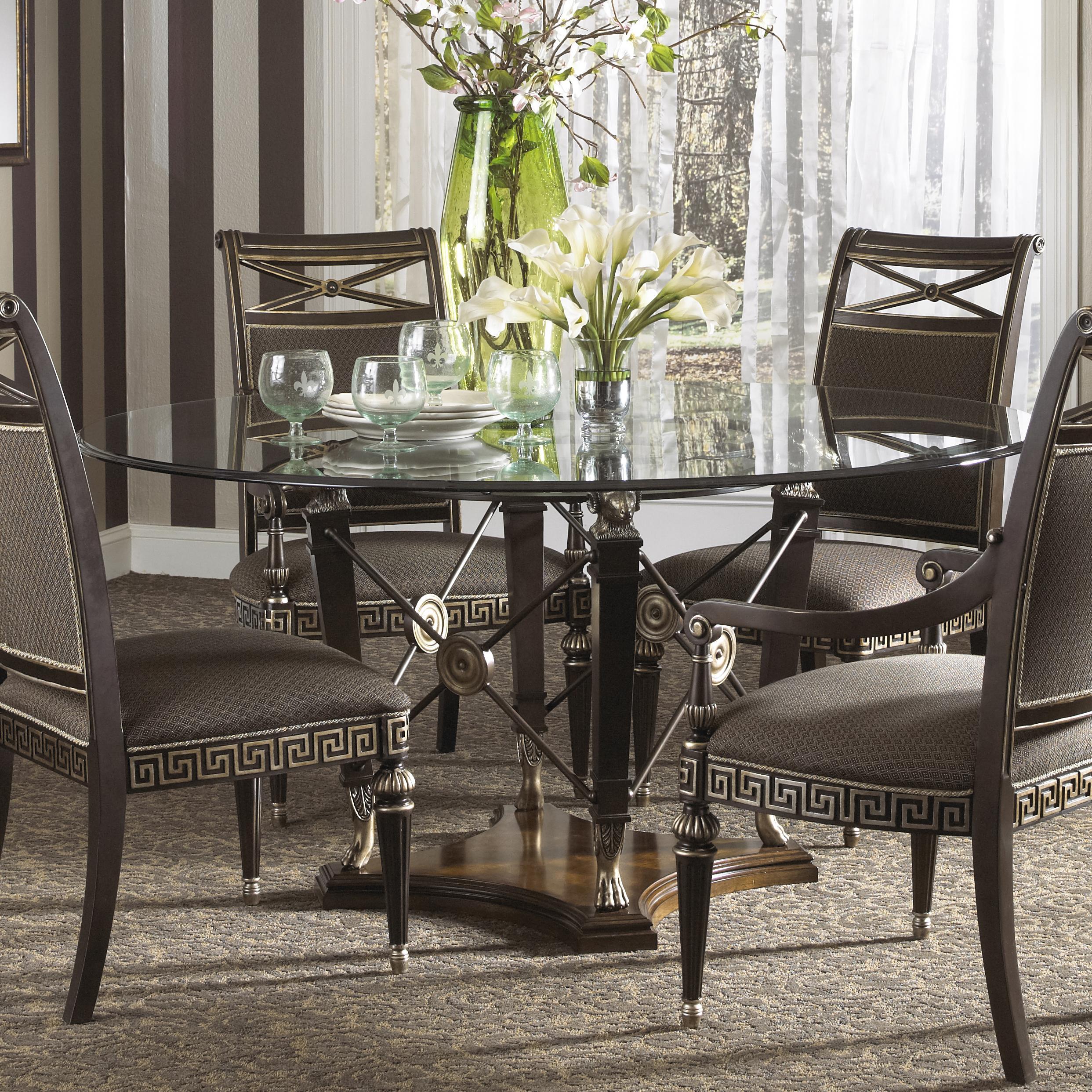Fine Dining Furniture: Fine Furniture Design Belvedere Formal Grecian Style Round
