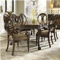 Fine Furniture Design Belvedere 7 Piece Dining Set - Item Number: 1150-814+2x825+4x824