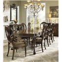 Fine Furniture Design Belvedere 9 Piece Dining Set - Item Number: 1150-814+2x825+6x824