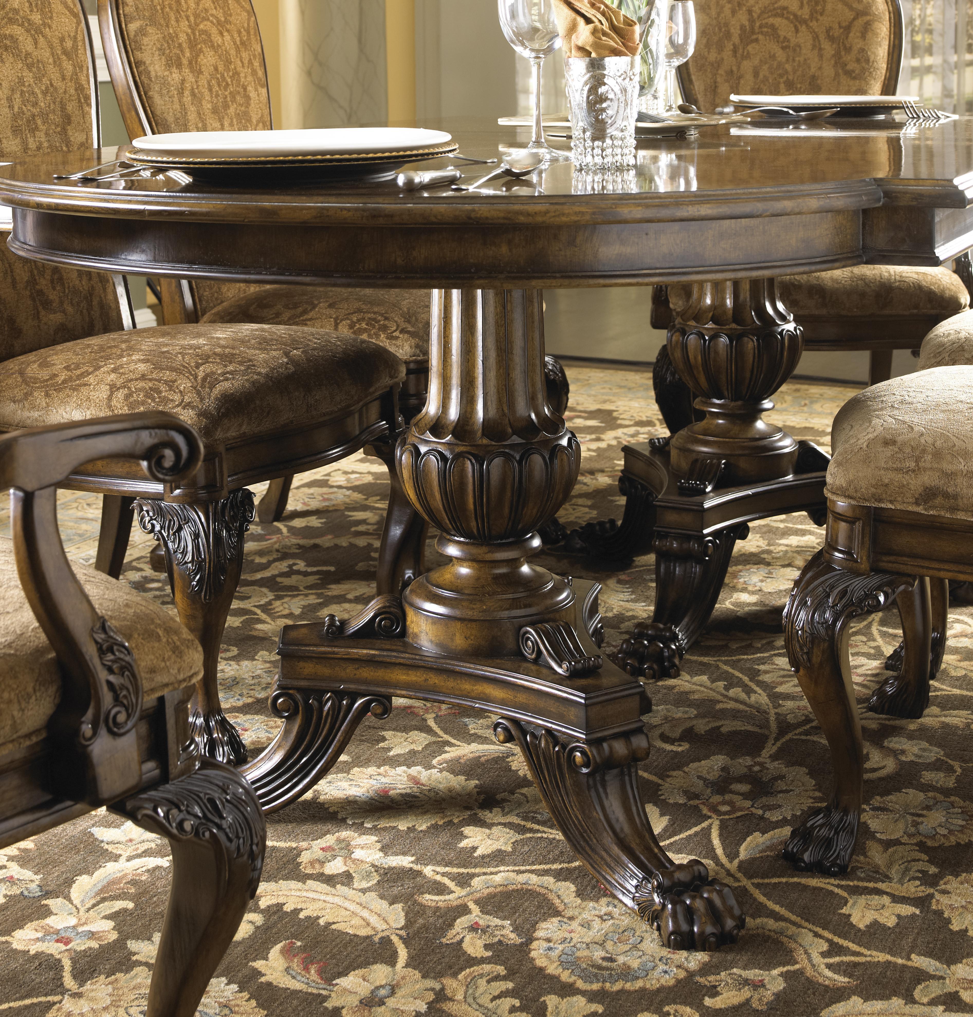 15 Ideas Of Elegant Dining Table Set: Fine Furniture Design Belvedere Seven Piece Dining Set