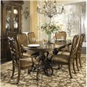 Fine Furniture Design Belvedere 7 Piece Dining Set - Item Number: 1150-818+819+2x821+4X820