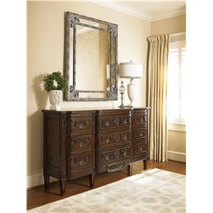 Fine Furniture Design Biltmore Triple Dresser and Mirror