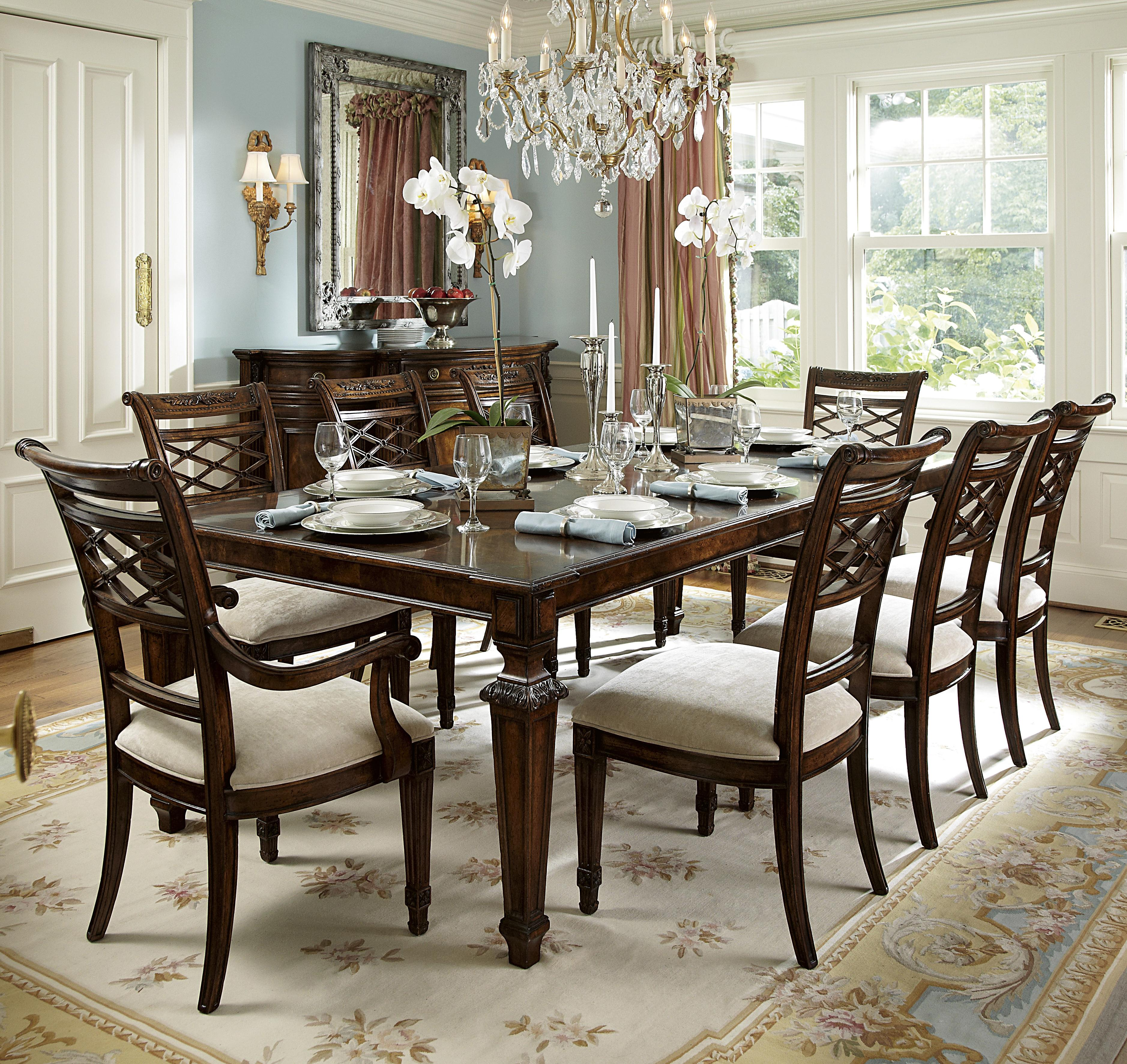 Michael Harrison Biltmore Louis Dining Table Set With