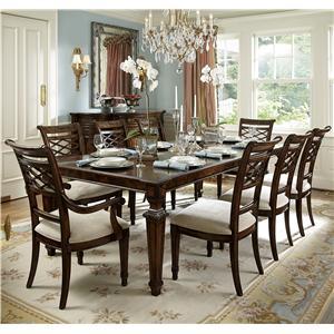 Fine Furniture Design Biltmore Louis Dining Table Set