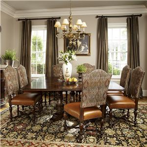 Michael Harrison Collection Biltmore Hunt Club Square Dining Table Set
