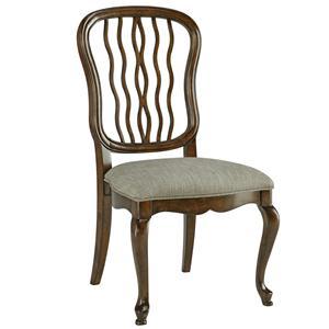 Fine Furniture Design Biltmore Carved Back Dining Side Chair
