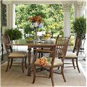 Fine Furniture Design Biltmore Flip Top Table Dining Set - Item Number: 1346-816+2X825+4X824