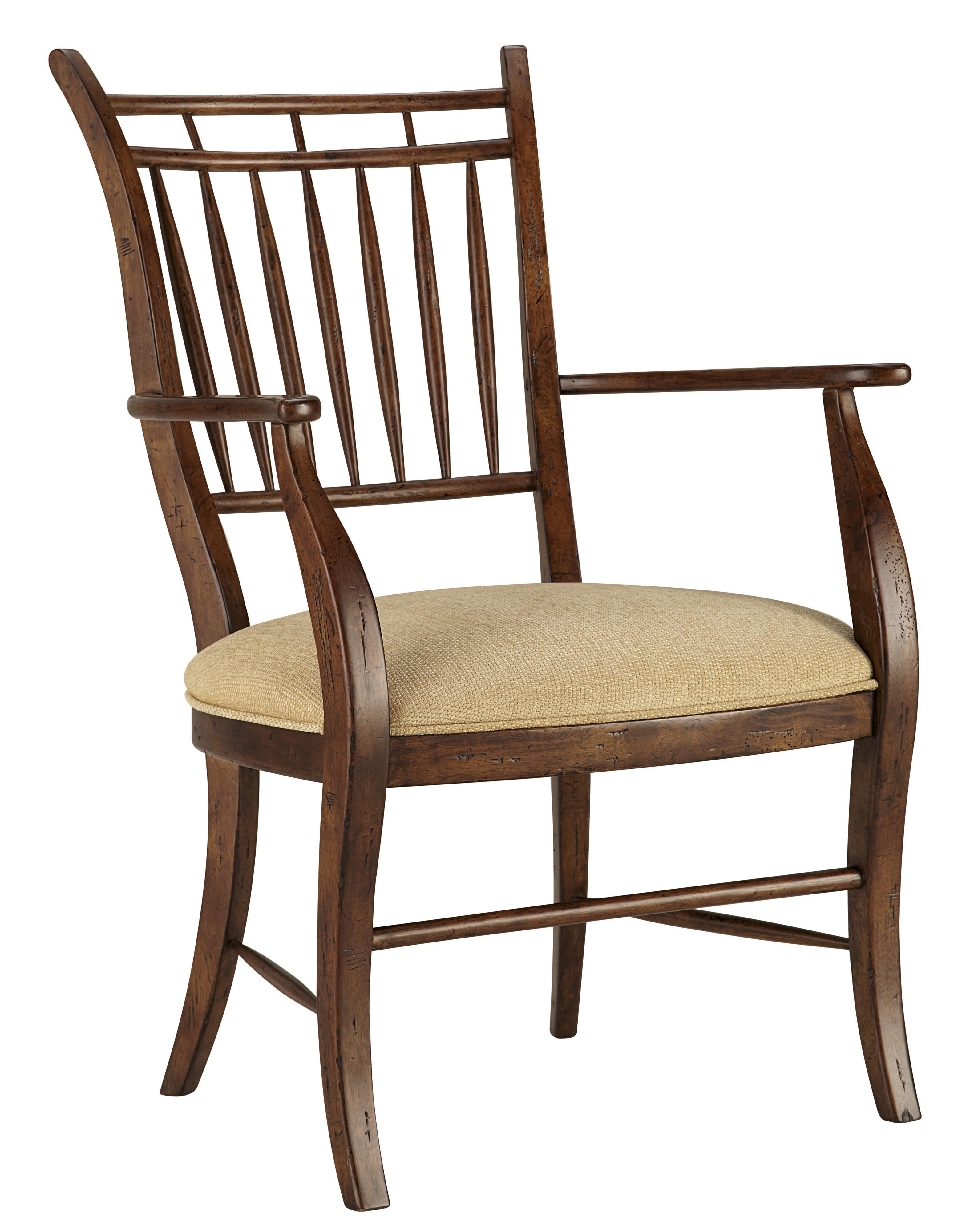 Fine Furniture Design Biltmore 1346-825 Spindle Dining Arm