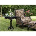 Fine Furniture Design Biltmore Scalloped Side Table with Barley Twist Pedestal